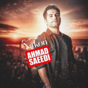 دانلود آهنگ زیبای ناز بی اندازه نکن احمد سعیدی